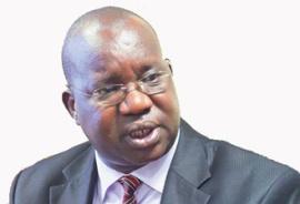 Il ministro ugandese dell'Etica e dell'integrità Simon Lokodo