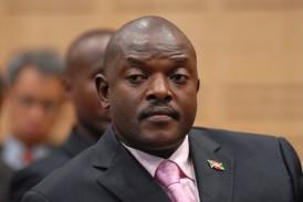 Il presidente della Repubblica del Burundi Pierre Nkurunziza