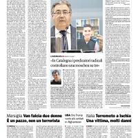 Intervista sulla diffusione dell'Islam radicale in Catalogna