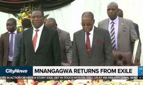 Ritorno dall'esilio di Emmerson Mnangagwa